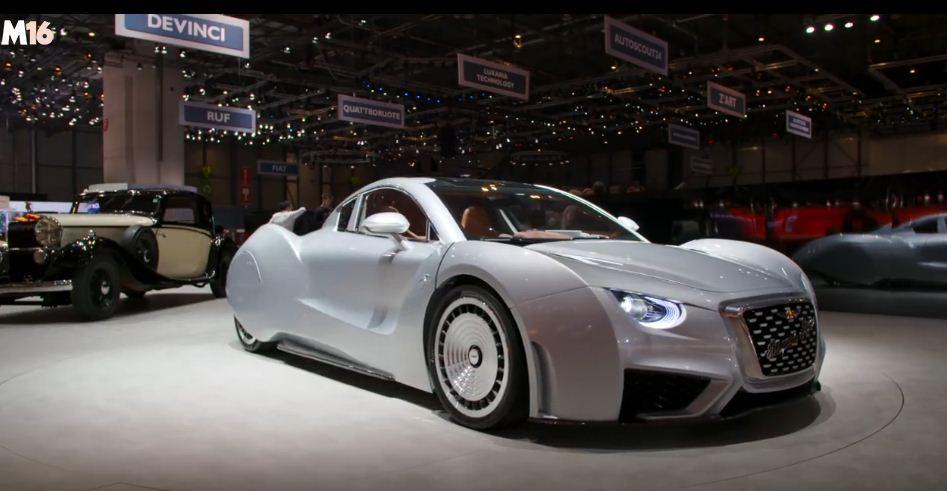 Hispano Suiza ha creado Carmen, un deportivo con clásico aspecto y 1.020 CV eléctricos