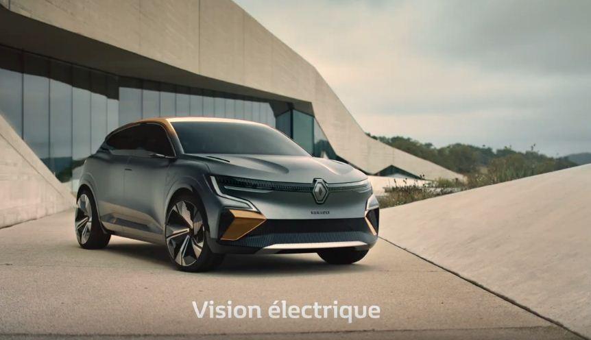 Con el eVision, Renault avanza cómo serán los eléctricos en su futuro más inmediato