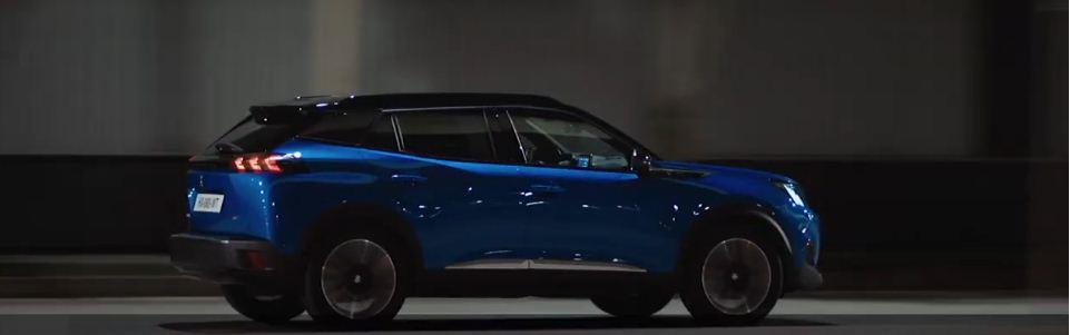 Majestuoso coche de Peugeot