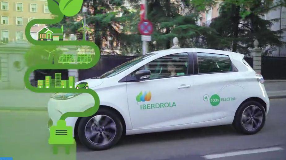 El primer mapa de puntos de recarga para eléctricos, disponible en la app de Iberdrola